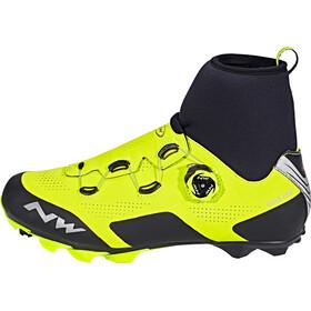 Northwave Raptor GTX schoenen Heren, yellow fluo/black